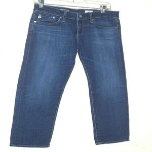 AG Adriano Goldschmied Sz 27R Tomboy Crop Relaxed